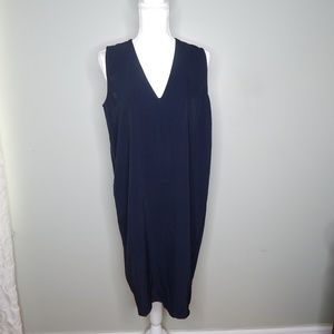 everlane women black dress sz 8
